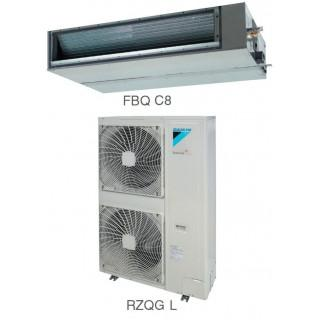 Кондиционер Daikin Сплит Система FBQ-C8/RZQG-L Канальный Инверторный FBQ140C8 RZQG140LY