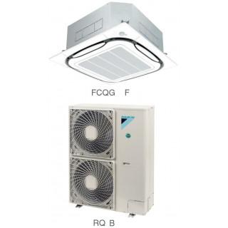 Кондиционер Daikin Сплит Система FCQG-F/RR-B FCQG-F/RQ-B Кассетный ON/OFF FCQG100F RQ100BW
