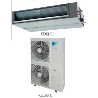 Кондиционер Daikin Сплит Система FDQ-C/RZQG-L Канальный Инверторный FDQ125C RZQG125L8V