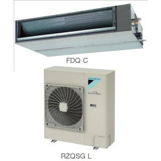 Кондиционер Daikin Сплит Система FDQ-C/RZQSG-L Канальный Инверторный FDQ125C RZQSG125L8V