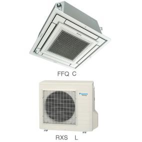Кондиционер Daikin Сплит Система FFQ-C/RXS-L Кассетный Инверторный FFQ25C RXS25L