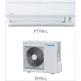 Кондиционер Daikin Сплит Система FTYN-L/RYN-L Настенный ON/OFF FTYN25L RYN25L Nord-30 с зимним комплектом Иней