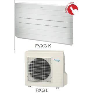 Кондиционер Daikin Сплит Система FVXG-K/RXG-K/L Напольный Инверторный FVXG35K RXG35L