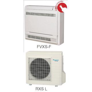Кондиционер Daikin Сплит Система FVXS-F/RXS-K/L Напольный Инверторный FVXS25F RXS25L