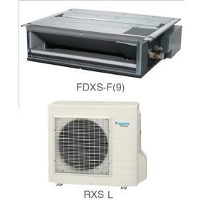Кондиционер Daikin Сплит Система FDXS-F(9)/RXS-K/F/L Канальный Инверторный FDXS25F RXS25L