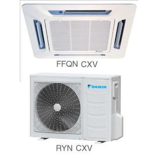 Кондиционер Daikin Сплит Система FFQN-CXV/RYN-CXV Кассетный ON/OFF FFQN25CXV RYN25CXV