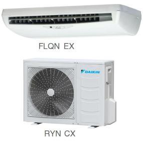 Кондиционер Daikin Сплит Система FLQN-EXV/RYN-CXV/RQ-C(D)XV/Y Потолочный ON/OFF FLQN35EXV RYN35CXV