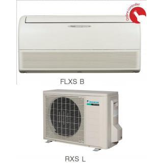 Кондиционер Daikin Сплит Система FLXS-B(9)/RXS-K/L Напольно-Потолочный Инверторный FLXS35B RXS35L