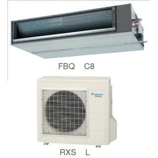 Кондиционер Daikin Сплит Система FBQ-C8/RXS-L Канальный Инверторный FBQ60C8 RXS60L
