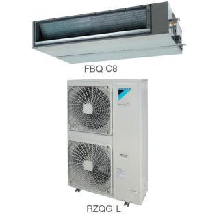 Кондиционер Daikin Сплит Система FBQ-C8/RZQG-L Канальный Инверторный FBQ125C8 RZQG125L8V