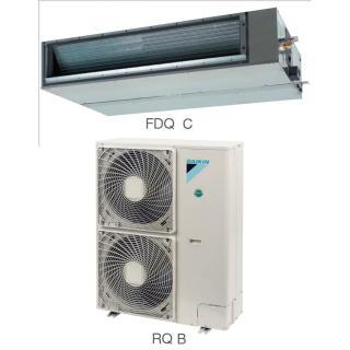 Кондиционер Daikin Сплит Система FDQ-C/RR-B FDQ-C/RQ-B Канальный ON/OFF FDQ125C RR125BW Nord-30 с зимним комплектом Иней