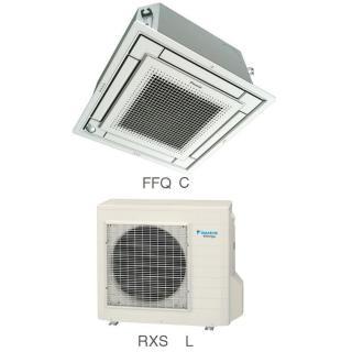 Кондиционер Daikin Сплит Система FFQ-C/RXS-L Кассетный Инверторный FFQ50C RXS50L